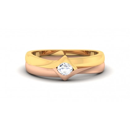 DANIKA DIAMOND BANDS RING in 18K Gold