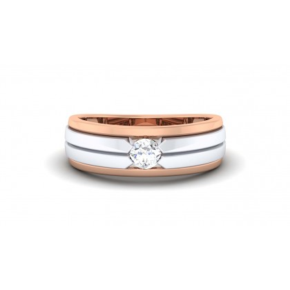 RYLIN DIAMOND BANDS RING in 18K Gold