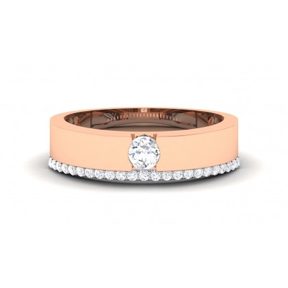 ANAIS DIAMOND BANDS RING in 18K Gold