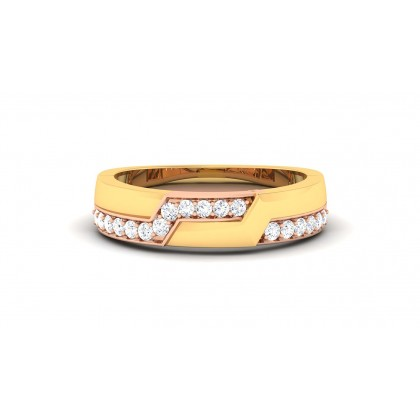 SANIYAH DIAMOND BANDS RING in 18K Gold