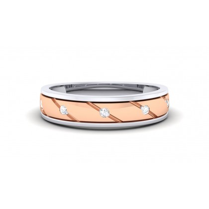 APURBA DIAMOND BANDS RING in 18K Gold