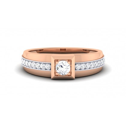 BANMALA DIAMOND BANDS RING in 18K Gold