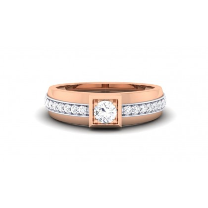 RAFAELA DIAMOND BANDS RING in 18K Gold