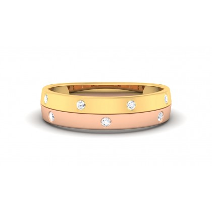 RUPA DIAMOND BANDS RING in 18K Gold