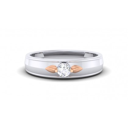ASHLEY DIAMOND BANDS RING in 18K Gold