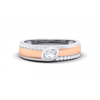 VATI DIAMOND BANDS RING in 18K Gold