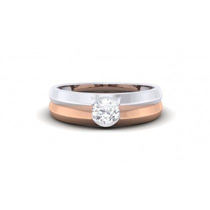 MUKTI DIAMOND BANDS RING in 18K Gold