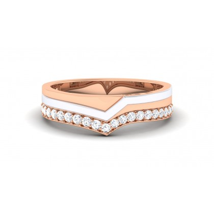 ANCHALA DIAMOND BANDS RING in 18K Gold