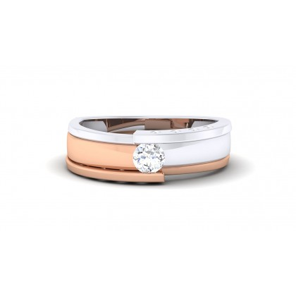 RAKA DIAMOND BANDS RING in 18K Gold