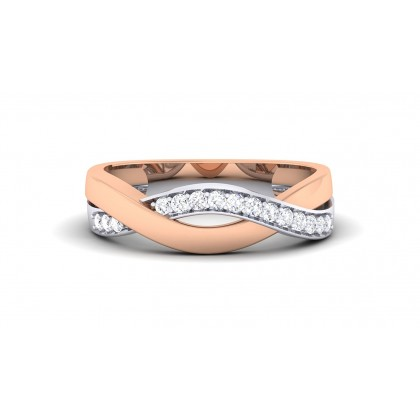AMIYA DIAMOND BANDS RING in 18K Gold