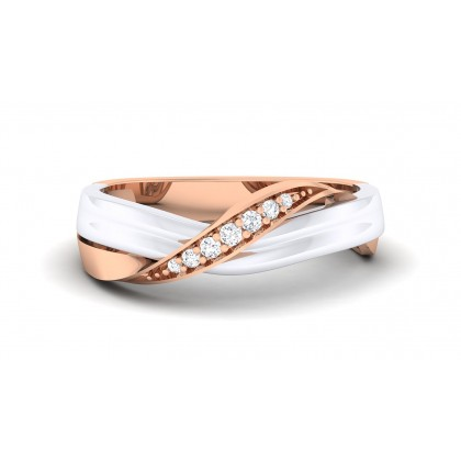 ARTI DIAMOND BANDS RING in 18K Gold