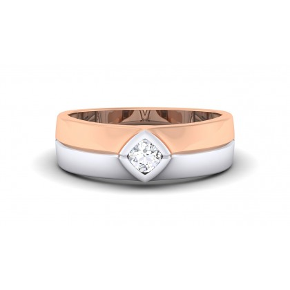 SELMA DIAMOND BANDS RING in 18K Gold