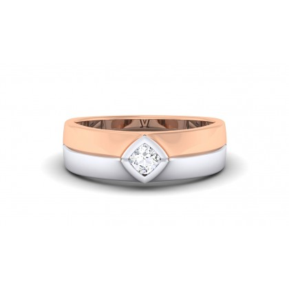 RIMA DIAMOND BANDS RING in 18K Gold