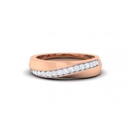 ANJANI DIAMOND BANDS RING in 18K Gold