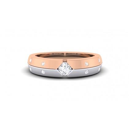 RANI DIAMOND BANDS RING in 18K Gold