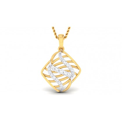 SAHANA DIAMOND FASHION PENDANT in 18K Gold