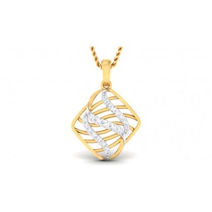 SAHANA DIAMOND FASHION PENDANT in 18K Gold