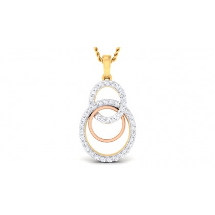 ADILENE DIAMOND FASHION PENDANT in 18K Gold