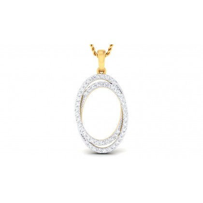 RACHEL DIAMOND FASHION PENDANT in 18K Gold