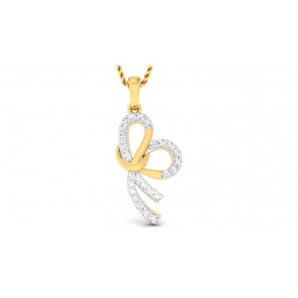 ALANA DIAMOND HEARTS PENDANT in 18K Gold