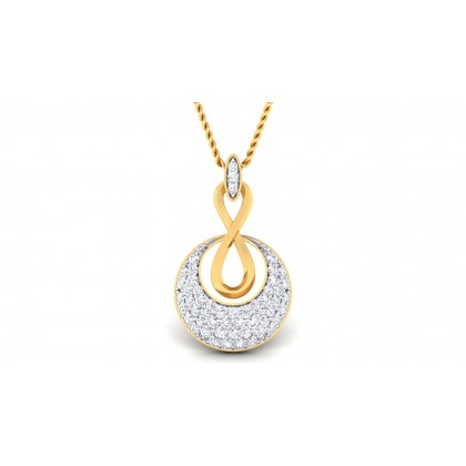 BRENDA DIAMOND FASHION PENDANT in 18K Gold