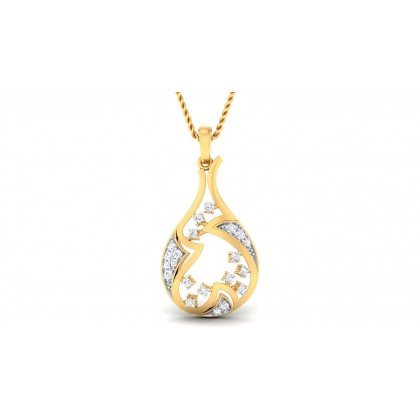 ANURATI DIAMOND FASHION PENDANT in 18K Gold