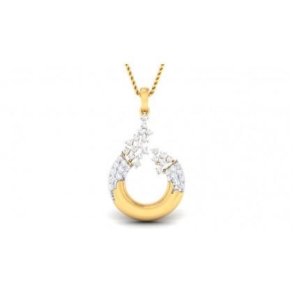 ROHANA DIAMOND FASHION PENDANT in 18K Gold
