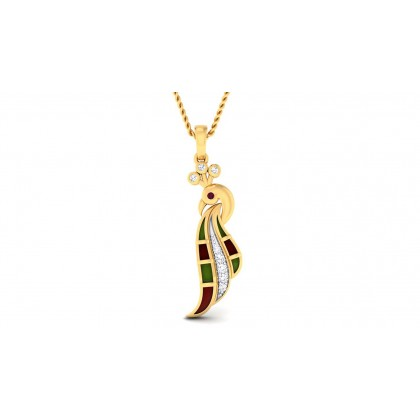 TANISI DIAMOND FASHION PENDANT in 18K Gold