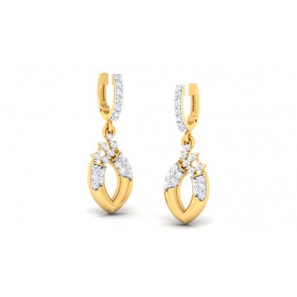 ARIYA DIAMOND DROPS EARRINGS in 18K Gold