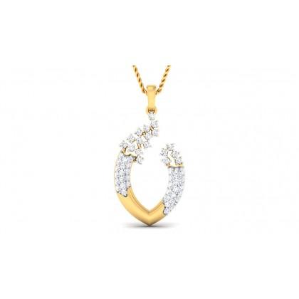 AVANI DIAMOND FASHION PENDANT in 18K Gold