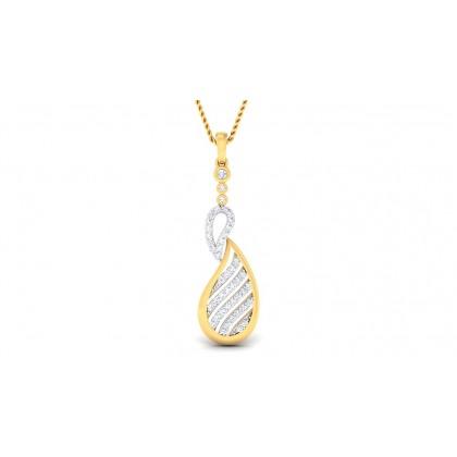 KIMBER DIAMOND FASHION PENDANT in 18K Gold