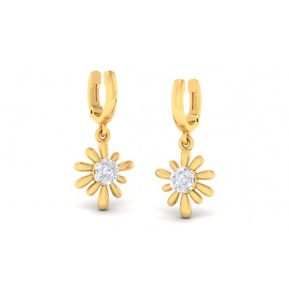 KAY DIAMOND DROPS EARRINGS in 18K Gold