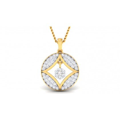 URMI DIAMOND FASHION PENDANT in 18K Gold