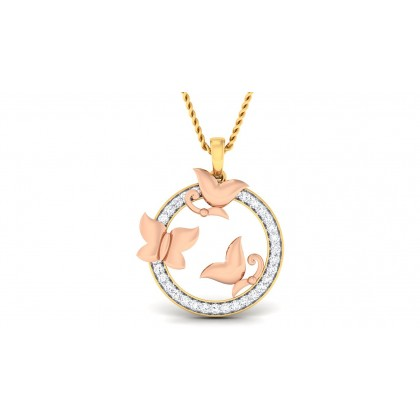 IRIE DIAMOND FASHION PENDANT in 18K Gold