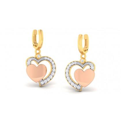 TARUNI DIAMOND DROPS EARRINGS in 18K Gold