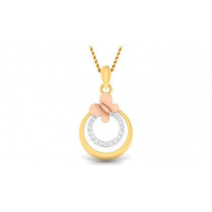 MOHATI DIAMOND FASHION PENDANT in 18K Gold