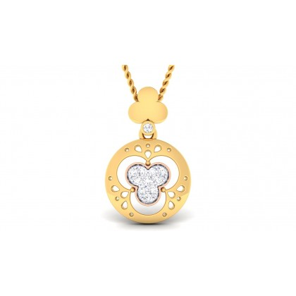 IRAVATI DIAMOND FASHION PENDANT in 18K Gold