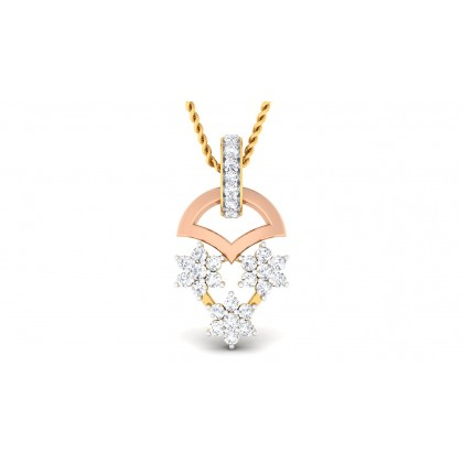 VISALA DIAMOND FASHION PENDANT in 18K Gold