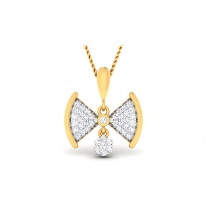 REBECA DIAMOND FASHION PENDANT in 18K Gold