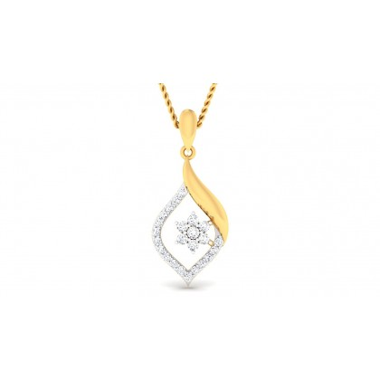 RAHELA DIAMOND FASHION PENDANT in 18K Gold