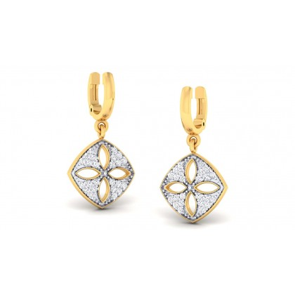 AVIGAIL DIAMOND DROPS EARRINGS in 18K Gold