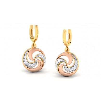 MAMATA DIAMOND DROPS EARRINGS in 18K Gold