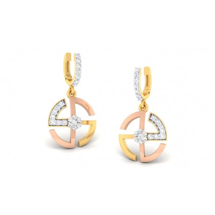 RANHITA DIAMOND DROPS EARRINGS in 18K Gold
