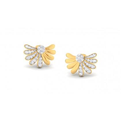 ARYA DIAMOND STUDS EARRINGS in 18K Gold