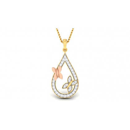SANA DIAMOND FASHION PENDANT in 18K Gold