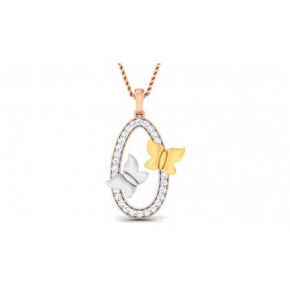 ANJANA DIAMOND FASHION PENDANT in 18K Gold