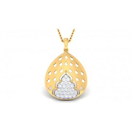 DAFNE DIAMOND FASHION PENDANT in 18K Gold