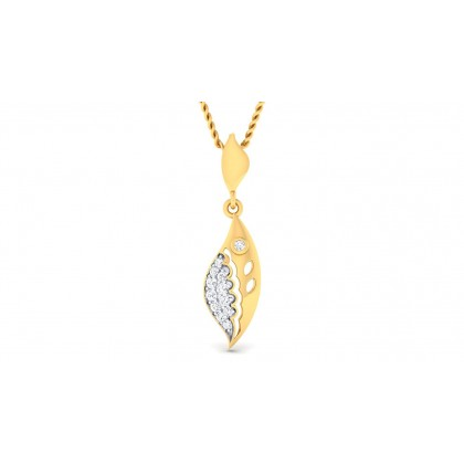 DIYA DIAMOND FASHION PENDANT in 18K Gold