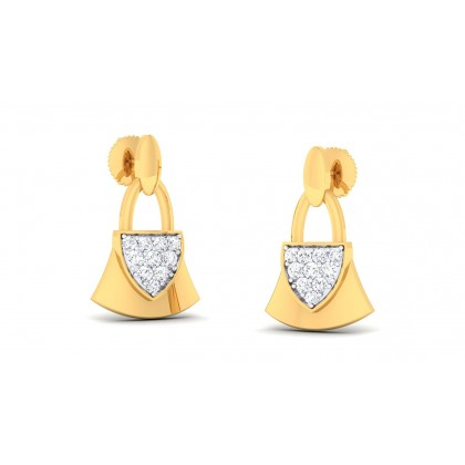 BLAIR DIAMOND DROPS EARRINGS in 18K Gold