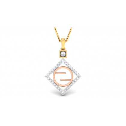 RAINA DIAMOND FASHION PENDANT in 18K Gold